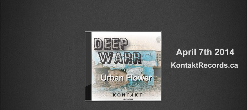 Deep Warr - Urban Flower EP